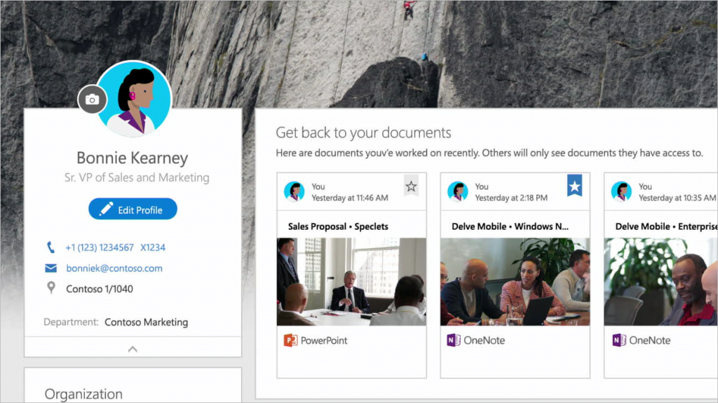 Updated people profile experiences coming soon to Office 365 2 - crop