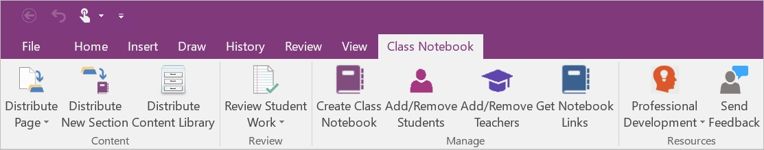 Introducing the Class Notebook add-in for OneNote 1b