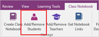 Introducing the Class Notebook add-in for OneNote 5b