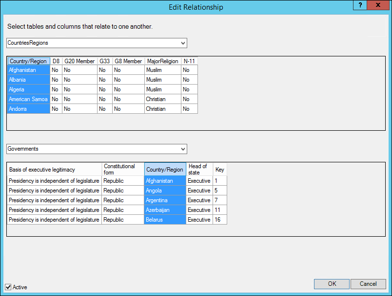 New feature updates for Power Pivot in Excel 2016