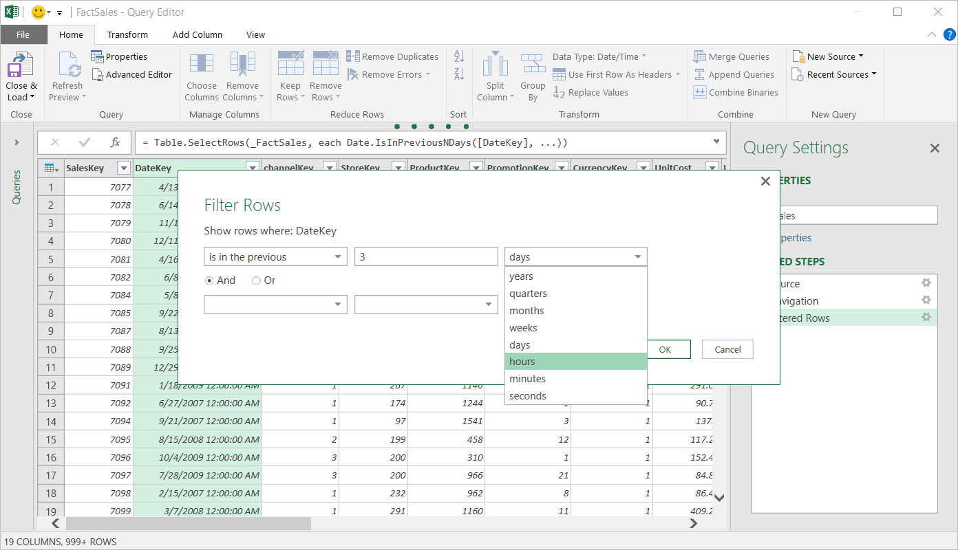 Updates to Get & Transform in Excel 2016 and the Power Query add-in 3