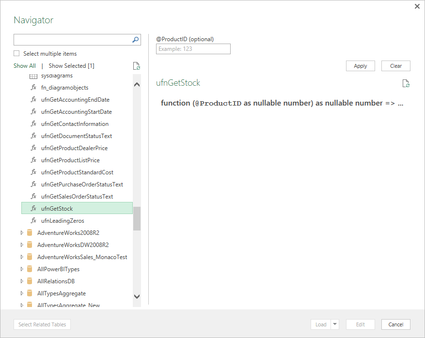 Updates to Get & Transform in Excel 2016 and the Power Query add-in 7
