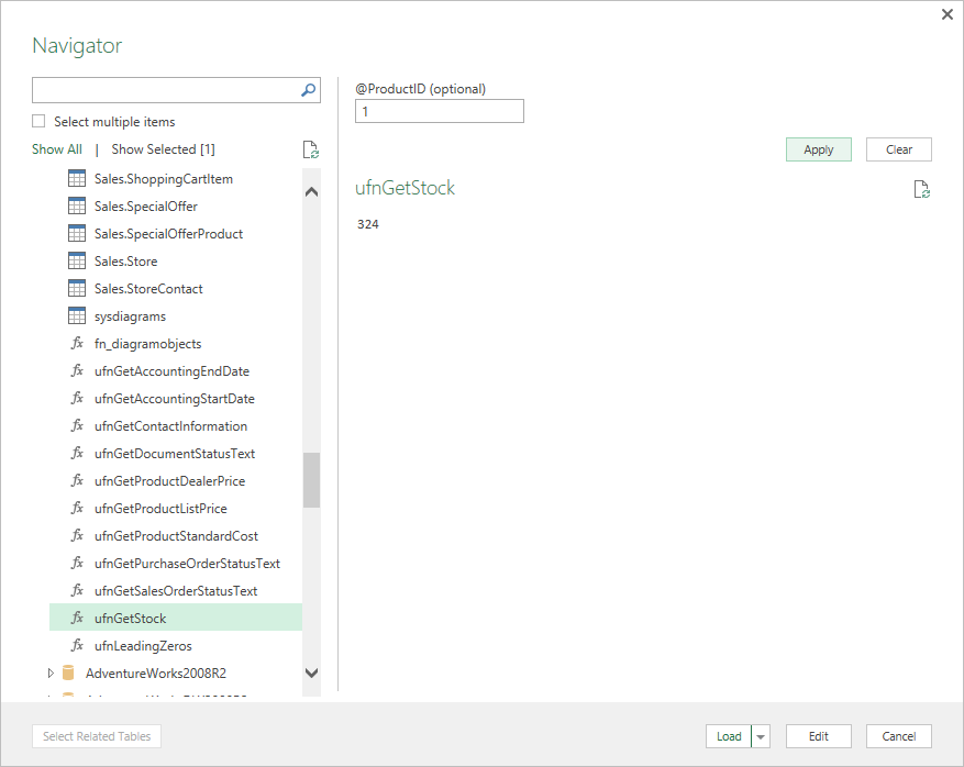 Updates to Get & Transform in Excel 2016 and the Power Query add-in 8