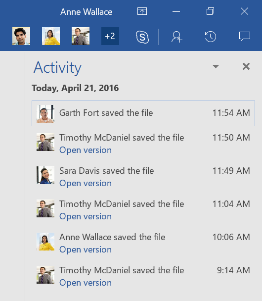 Office 365 April update 3 - BLOG