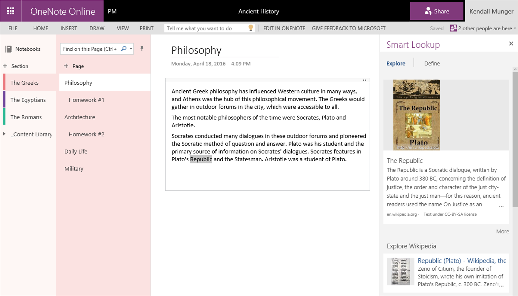 OneNote April roundup 5