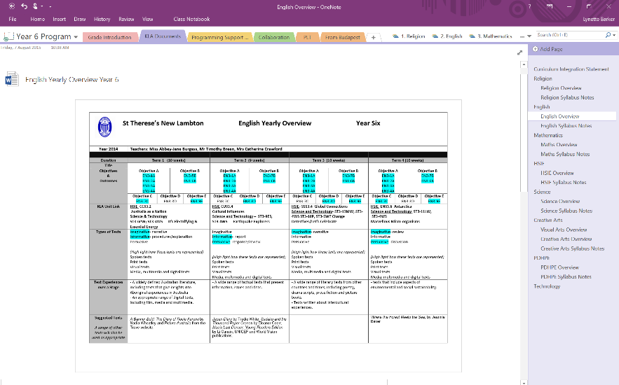 EPIC Planning in OneNote - Microsoft 365 Blog