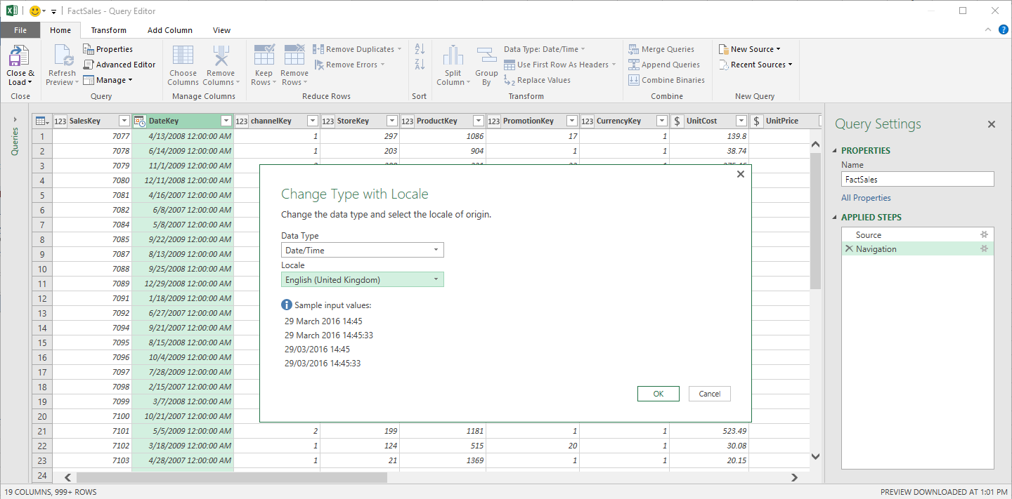 May 2016 updates for Get & Transform in Excel 2016 and the Power Query add-in 4