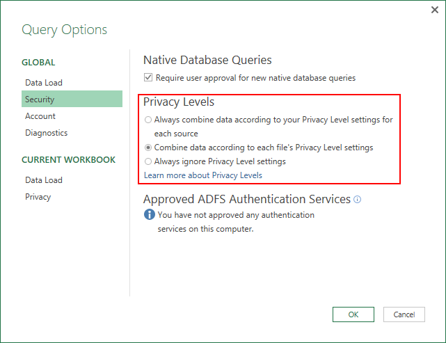 May 2016 updates for Get & Transform in Excel 2016 and the Power Query add-in 9