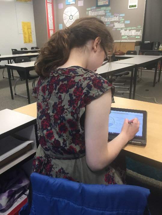 OneNote, ELL and special education at Sammamish High School student 1