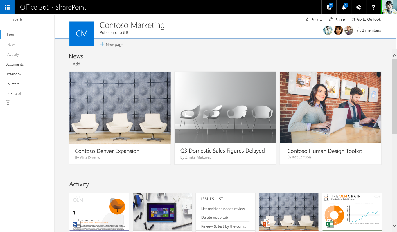 SharePoint the mobile and intelligent intranet 3