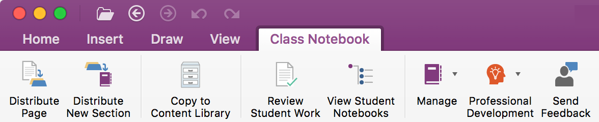 Announcing Class Notebook Tools for OneNote for Mac 1
