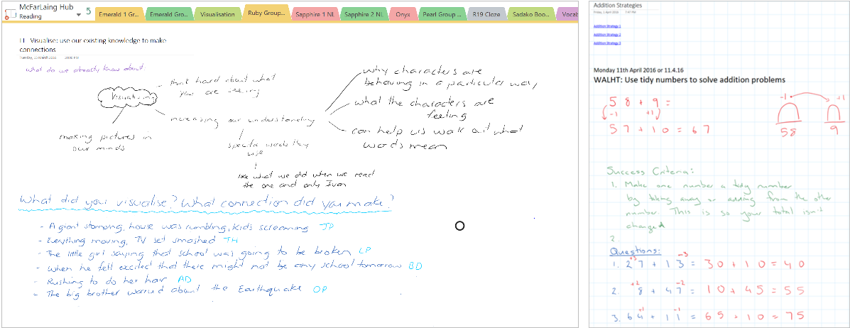 How OneNote Class Notebooks supports digital modeling books 2b