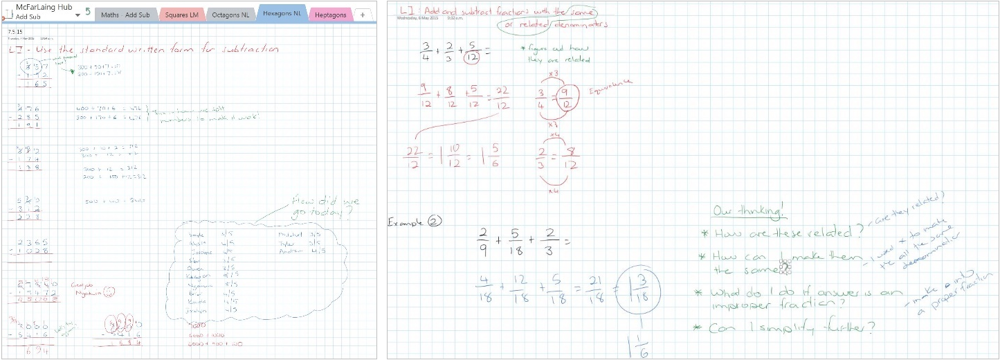 How OneNote Class Notebooks supports digital modeling books 4b