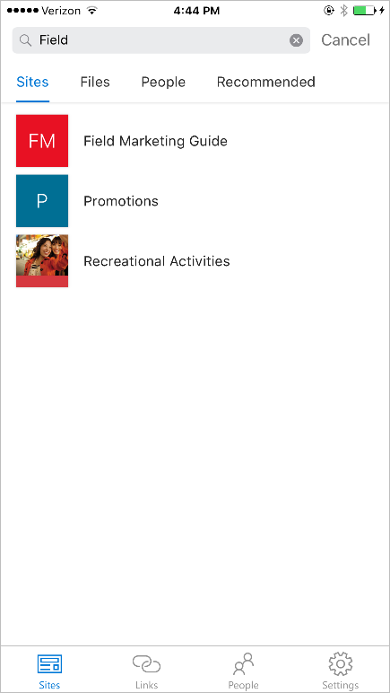 the SharePoint mobile app for iOS is now available 11