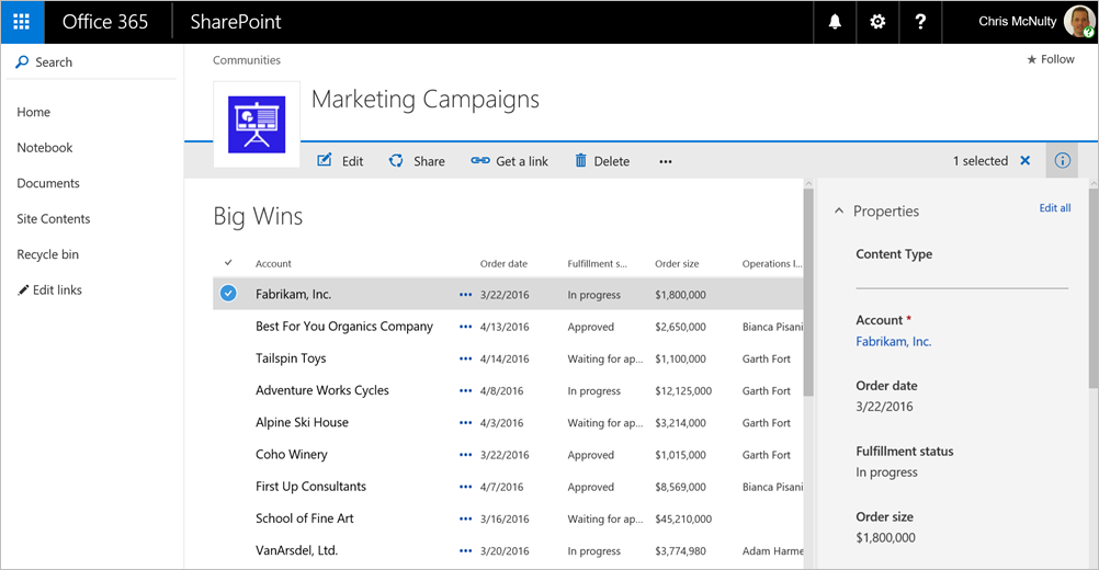 modern sharepoint lists are here including integration with