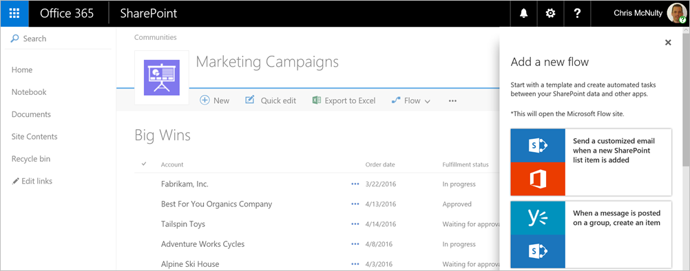 Modern SharePoint lists are here 4