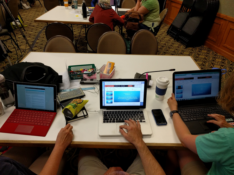 Math teachers summer collaboration with Office Online in Office 365 02