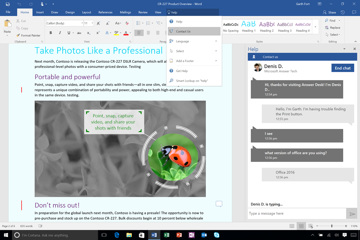 New to Office 365 in August 6