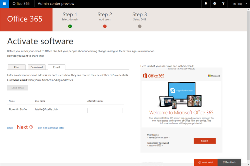 Whats new in Office 365 administration August update 1