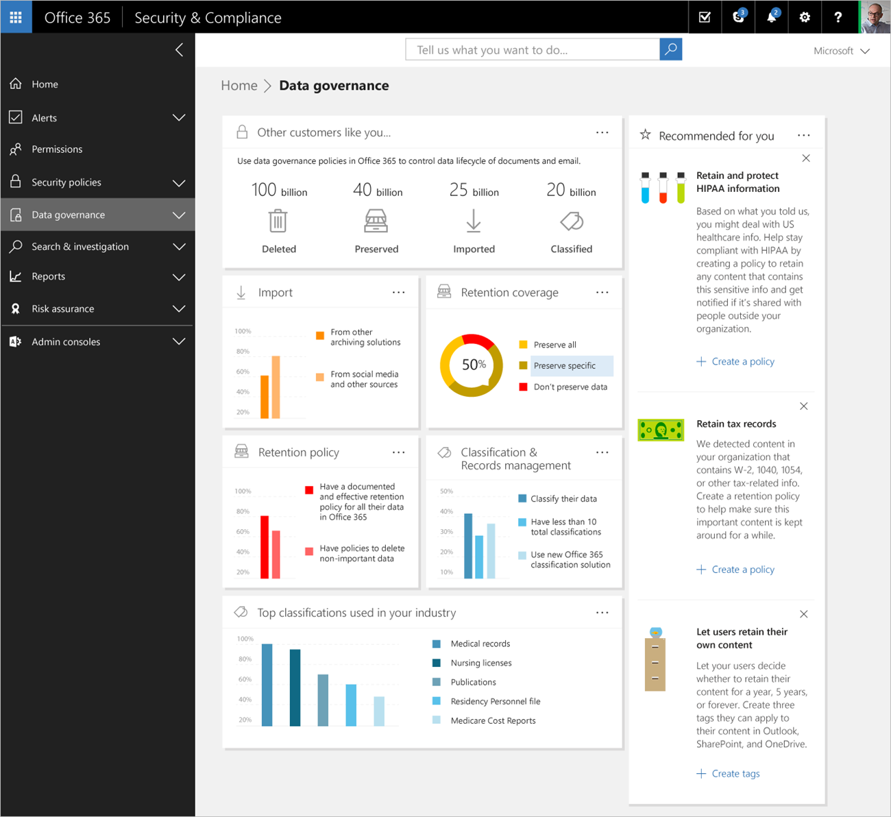 Applying Intelligence To Security And Compliance In Office