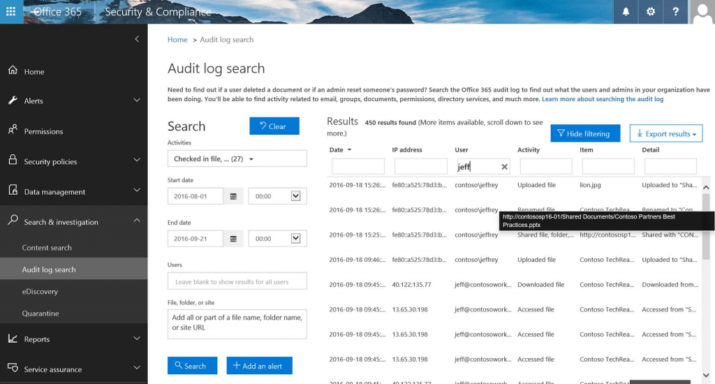 Enhanced conditional access controls encryption controls and site classification in SharePoint and OneDrive 7