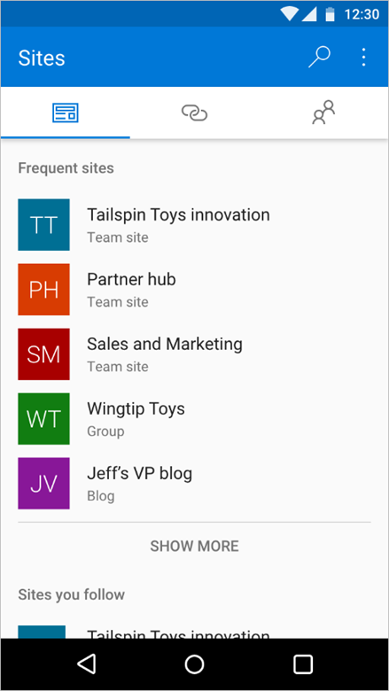 Enriching the mobile and intelligent intranet 4
