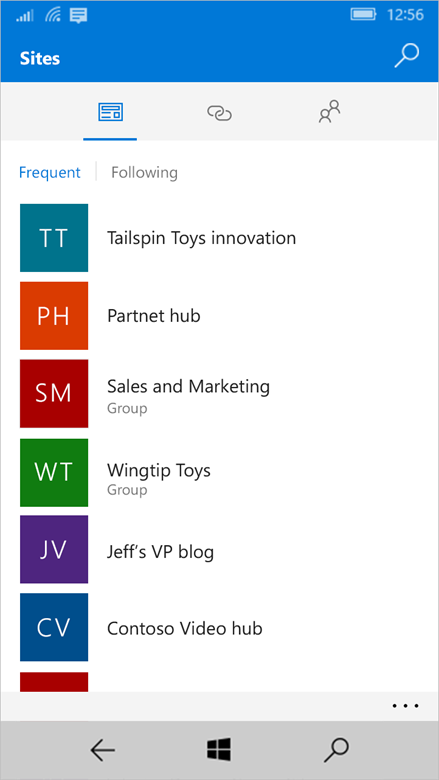 Enriching the mobile and intelligent intranet 6