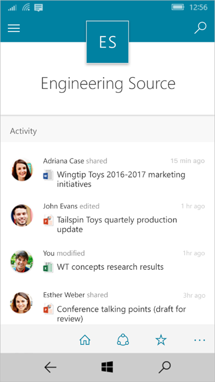 Enriching the mobile and intelligent intranet 7