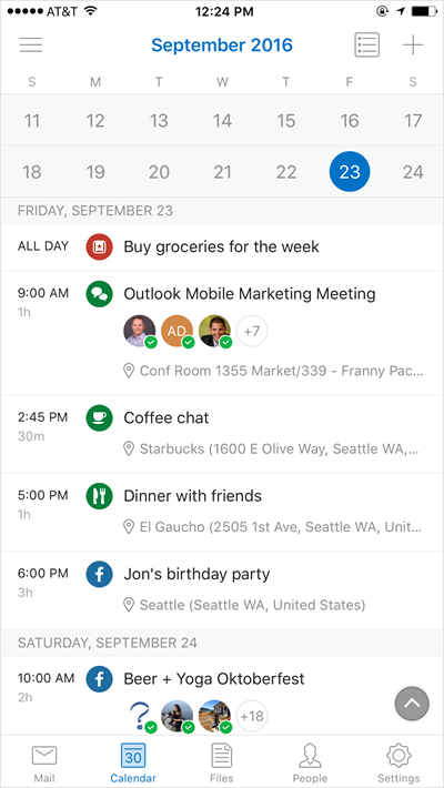 Introducing Outlook's new and improved calendar on iOS and