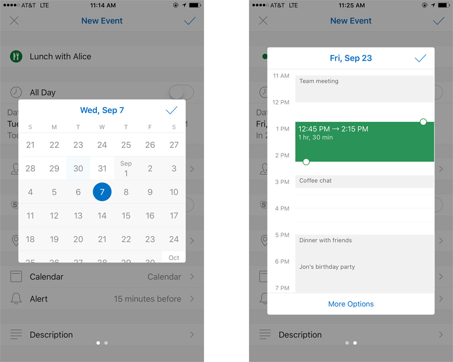 Introducing Outlooks new and improved calendar 4