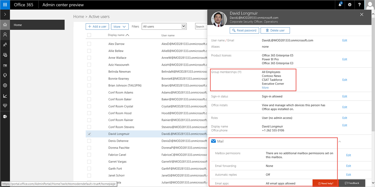 office 365 administration announcements  new admin center