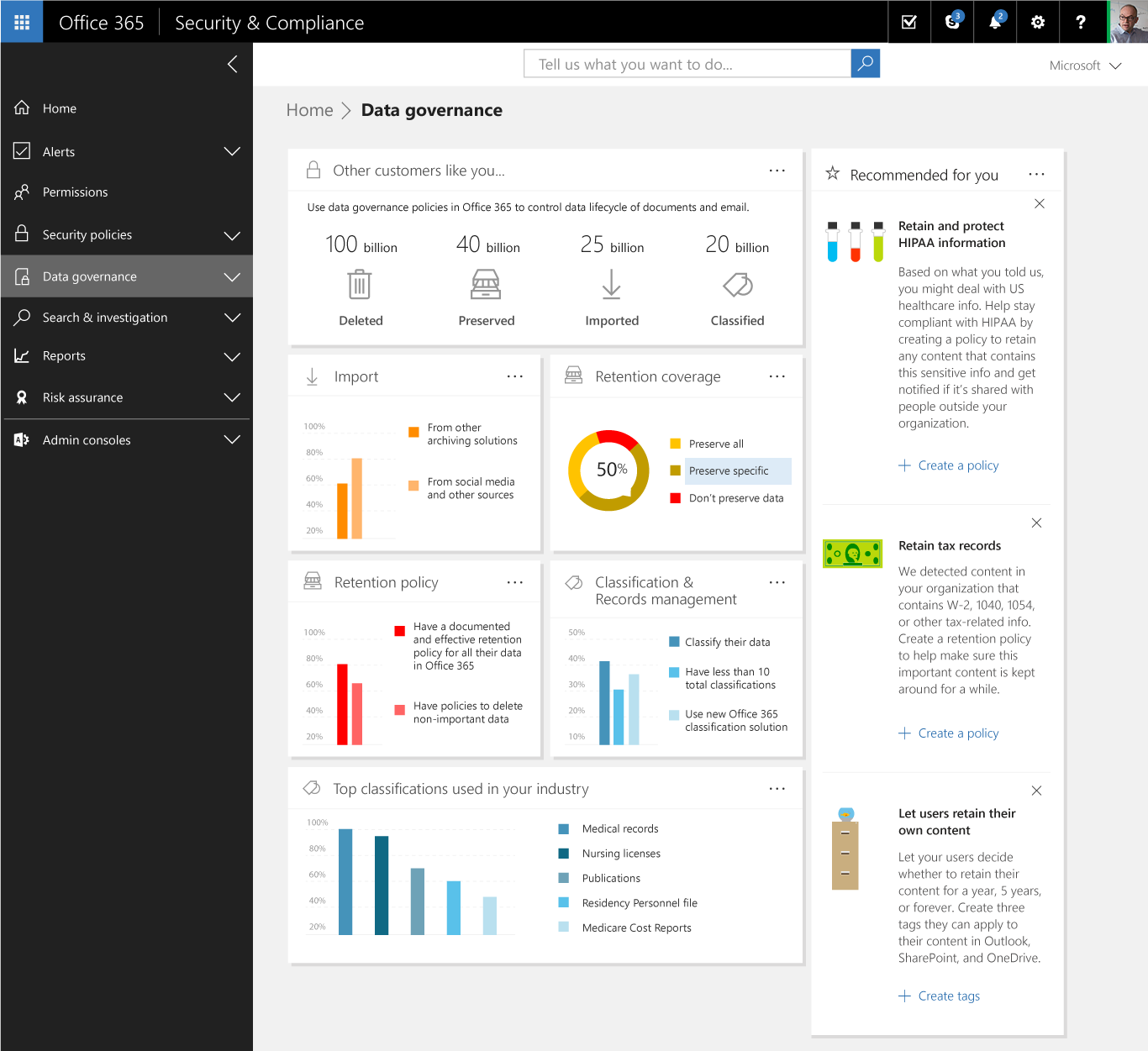 Superior Advanced Data Governance Helps You Achieve Organizational Compliance By  Leveraging Machine Assisted Insights To Help You Find, Classify, Set  Policies On And ...
