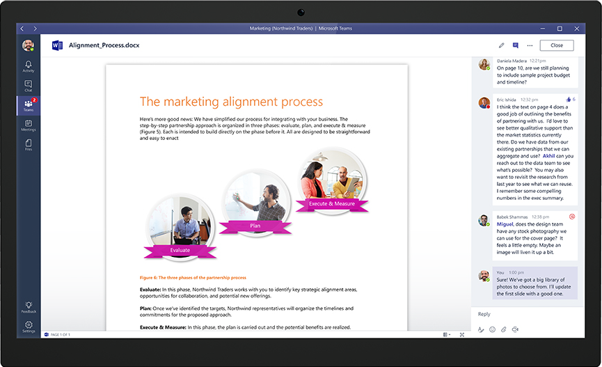 Introducing Microsoft Teams—the chat-based workspace in