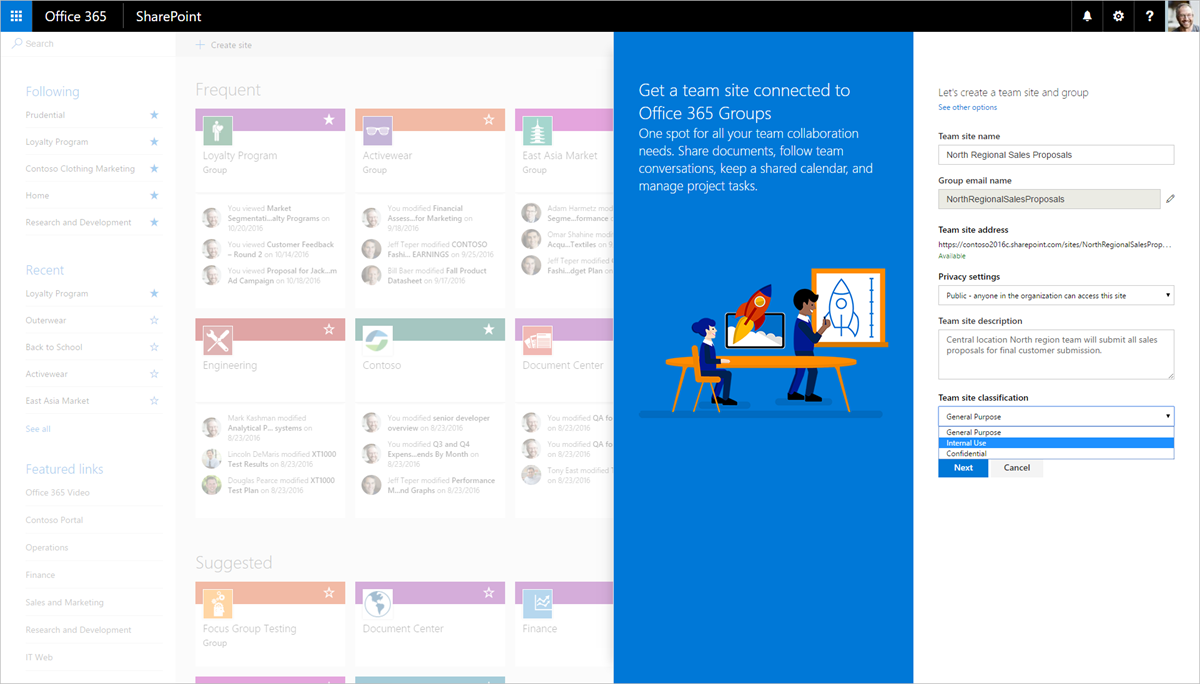 Superb Create Connected Sharepoint Online Team Sites In Seconds