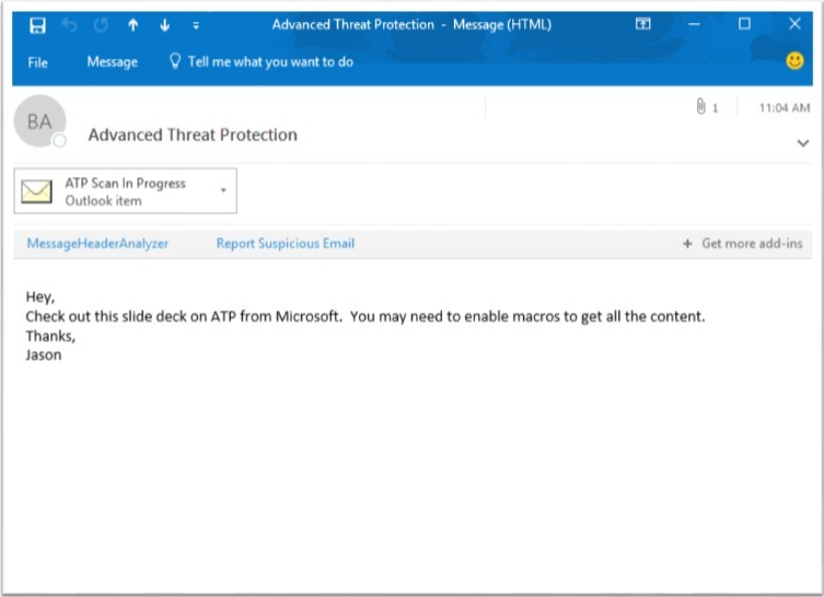Evolving Office 365 Advanced Threat Protection with URL