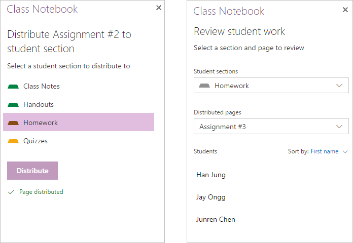 Updates for OneNote 3 and 4