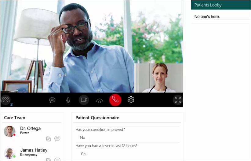 New virtual health templates extend skype for business as platform lonnie buchanan director of enterprise architecture at intermountain healthcare accmission Image collections