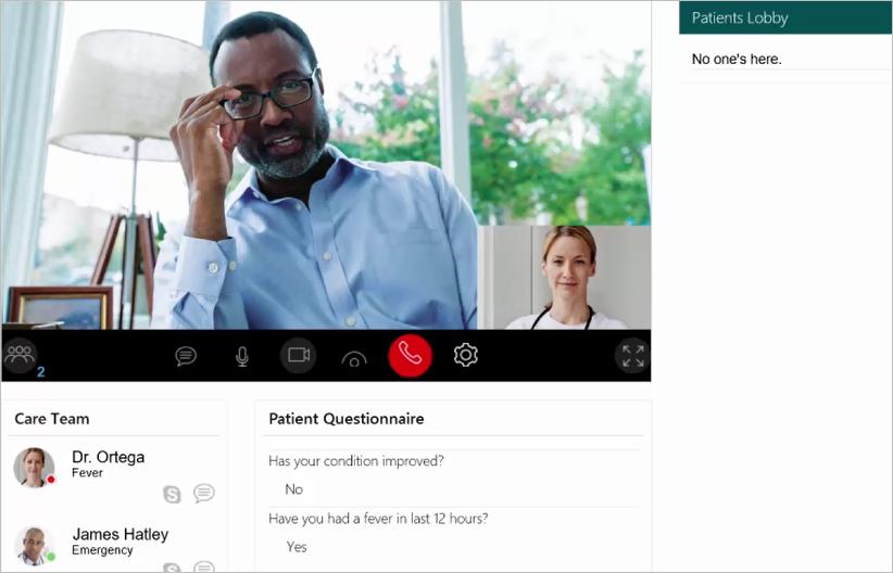 New Virtual Health Templates extend Skype for Business as platform