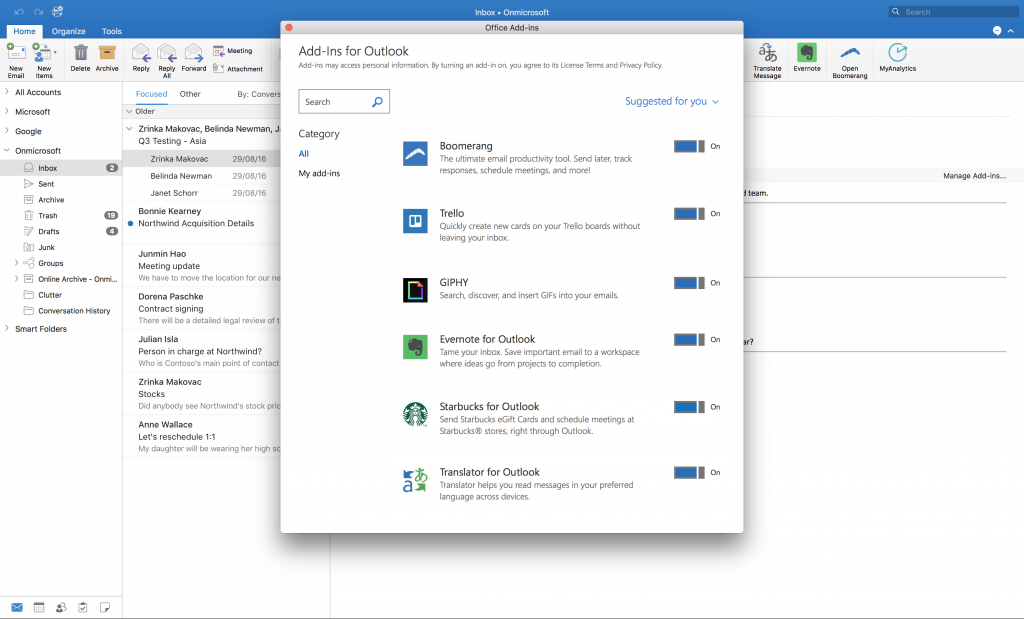 Microsoft office 365 mac os
