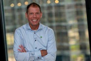Profile image of Jeff Henderson, executive vice president and CIO of TD Bank Group.