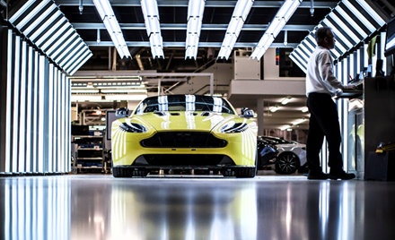 Image for: Aston Martin sets the pace for the next hundred years of automotive excellence with Microsoft 365