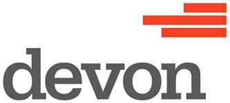 Devon logo.