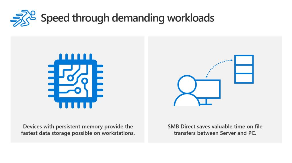 Windows 10 Pro for Workstations—power through advanced workloads