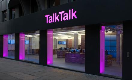 Image for: Image of a TalkTalk storefront.