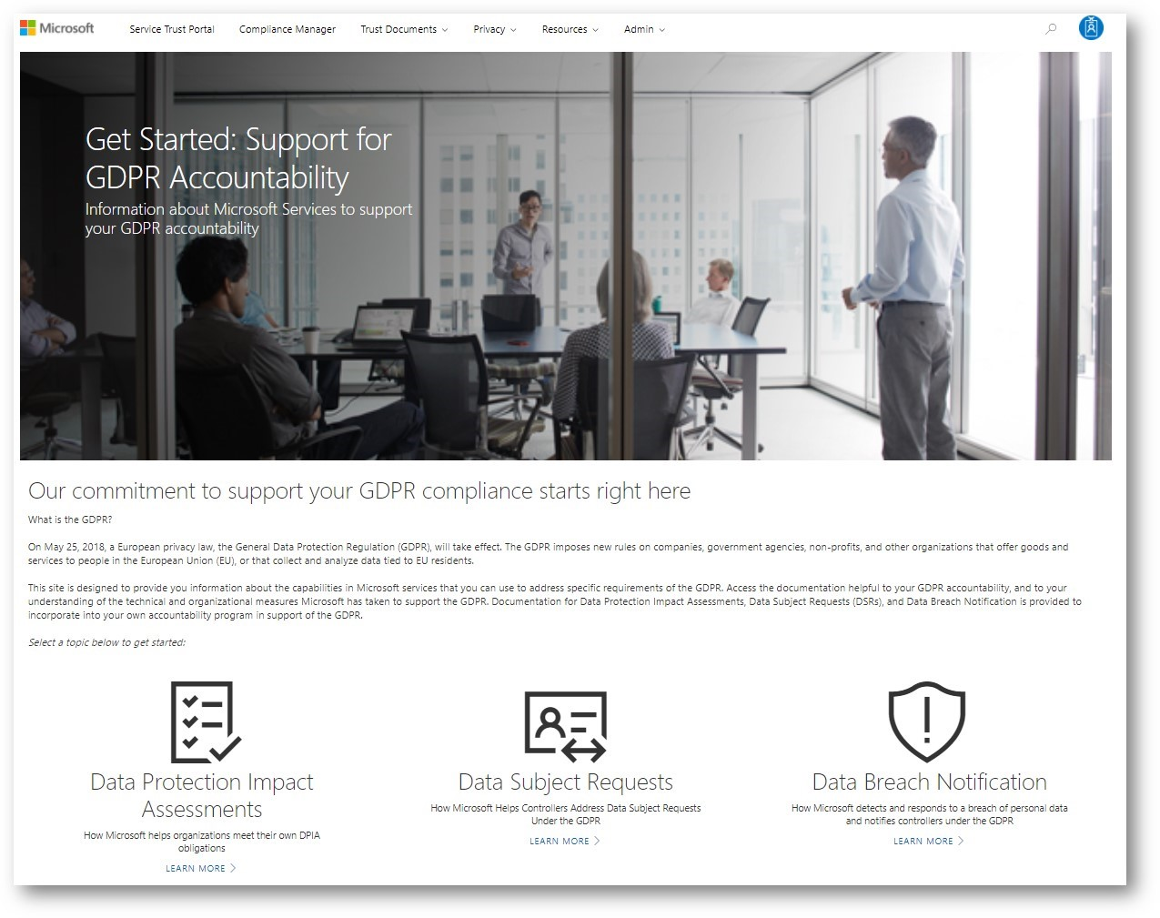 107161ef3505 Preparing for a new era in privacy regulation with the Microsoft ...
