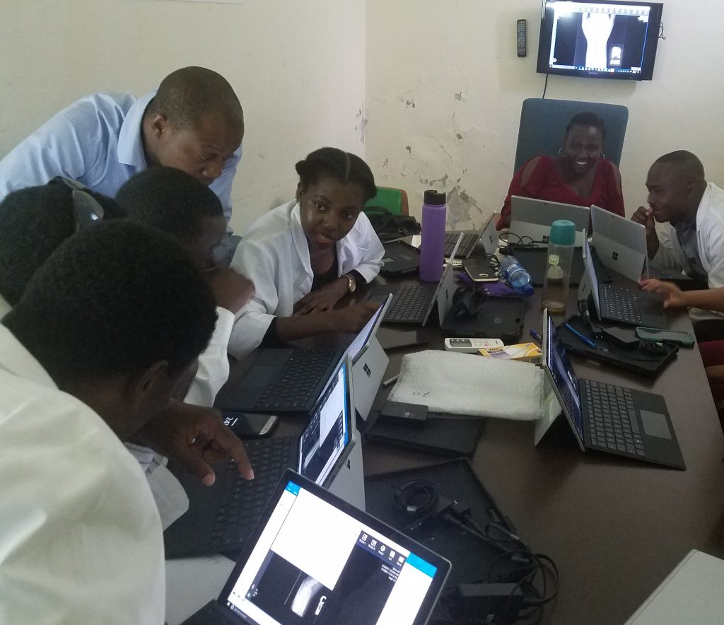 Training Haiti's radiologists: St  Louis doctor takes her