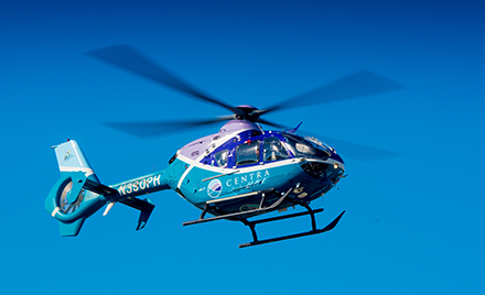Image of a Centra helicopter.