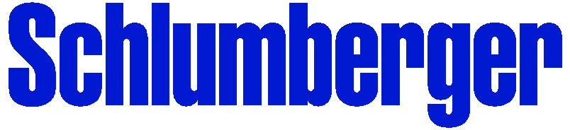 The Schlumberger logo.