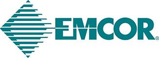 The EMCOR logo.