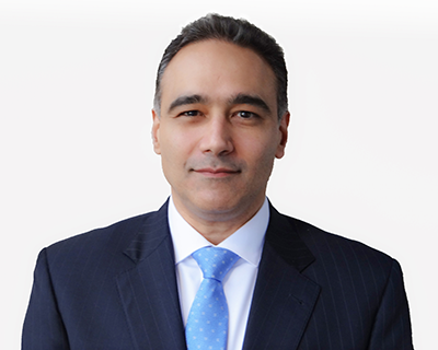 Image of Ramin Safai, chief technology officer at Jefferies Group.